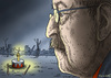 Cartoon: GÜNTER GRASS (small) by marian kamensky tagged günter,grass