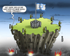 Cartoon: Hamas Tunnel (small) by marian kamensky tagged israel,gaza,iran,palestina,konflikt,hamas,tunnel