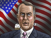 Cartoon: John Boehner (small) by marian kamensky tagged john,boehner,tea,party,time,republicans,obama,usa,pleite