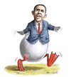 Cartoon: Lame Duck (small) by marian kamensky tagged humor