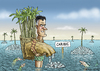 Cartoon: Mitt Romney in the Caribic (small) by marian kamensky tagged mitt,romney,steuerflucht,karibik,steuerhinterziehung