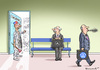 Cartoon: NEXT GERMAN PLEASE (small) by marian kamensky tagged abgasskandal,mercedes,wolkswagen