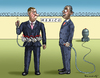 Cartoon: OBAMA VS BOEHNER (small) by marian kamensky tagged obama,vs,boehner