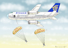 Cartoon: RYANAIR STREIKT (small) by marian kamensky tagged ryanair,streikt