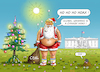 Cartoon: SANTA HOAX DONALD (small) by marian kamensky tagged klimakonferenz,in,katowice,co2,polen,naturkatastrophen