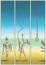 Cartoon: Test it! (small) by marian kamensky tagged fakir,test,it,check,up,exotik
