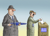 Cartoon: WAHLENQUALEN IN GRIECHENLAND (small) by marian kamensky tagged wahlenqualen,in,griechenland