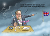 Cartoon: WM Austritt (small) by marian kamensky tagged fifa,wm,brasilien,katar,korruption,fussball,sepp,blatter,david,cameron,eu,austritt,papst,franziskus