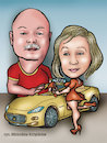 Cartoon: karykatura_13_17 (small) by Krzyskow tagged karykatura