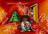 Cartoon: santa111 (small) by Krzyskow tagged humor,normal,illustratione,winter,weihnachten,weihnachtsmann,religion,kultur,tradition