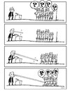 Cartoon: Speech03 (small) by dariush ramezani tagged politic,cartoon,comic,strip