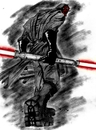 Cartoon: MAUL (small) by sahin tagged maul darth aka badass star wars sith lord sci fic lightsaber double