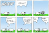 Cartoon: Geschenk (small) by maescot tagged webcomic,comic,schaf