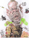 Cartoon: Bruce Willis -Die or hard- (small) by RoyCaricaturas tagged willis,actors,caricatura