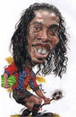 Cartoon: Ronaldinho smile (small) by RoyCaricaturas tagged ronaldinho barca brazil soccer