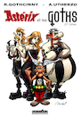 Cartoon: Asterix et les Goths (small) by Mikl tagged mikl,michael,olivier,miklart,illustration,art,asterix,obelix,goth,gothic