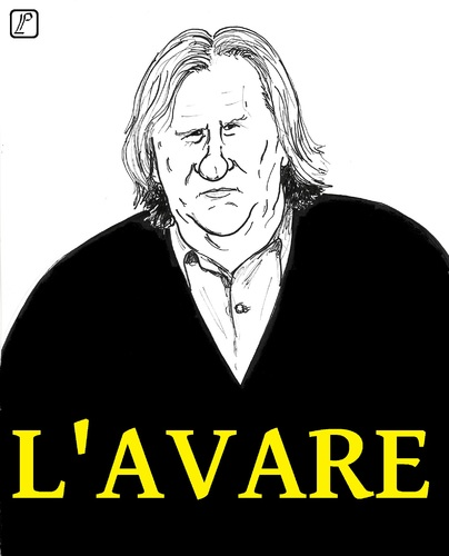 Cartoon: Avare (medium) by paolo lombardi tagged finance,caricature,satire,france