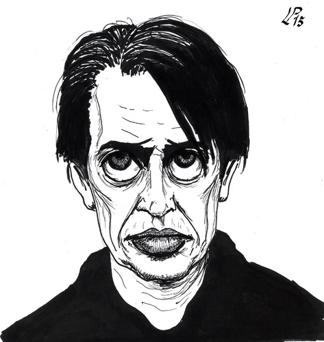 Cartoon: Steve Buscemi (medium) by paolo lombardi tagged actor