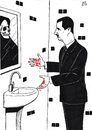 Cartoon: Dictator (small) by paolo lombardi tagged syria,assad,revolution