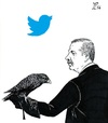 Cartoon: Erdogan s censorship (small) by paolo lombardi tagged erdogan,turkey,freedom