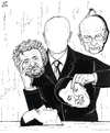 Cartoon: Italy without a face (small) by paolo lombardi tagged italy,politics