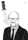 Cartoon: Pawel Adamowicz (small) by paolo lombardi tagged poland,europe