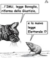 Cartoon: Riforme (small) by paolo lombardi tagged italy,berlusconi,justice,politics,corruption