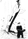 Cartoon: Rocket Test (small) by paolo lombardi tagged korea,war,peace