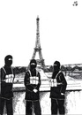 Cartoon: Souvenir photo in Paris (small) by paolo lombardi tagged isis,paris,france,terrorism