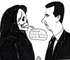 Cartoon: Stop (small) by paolo lombardi tagged syria,assad,revolution