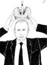 Cartoon: The New Zar (small) by paolo lombardi tagged putin,zar,russia