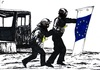 Cartoon: Ukraine riot (small) by paolo lombardi tagged europe