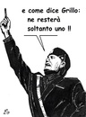Cartoon: Uno (small) by paolo lombardi tagged italy,grillo