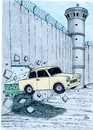 Cartoon: Wall Anniversary (small) by paolo lombardi tagged berlin,palestine,germany,politics,satire