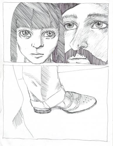 Cartoon: silent dialog (medium) by novak and nemo tagged girl,boy,shoes
