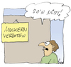 Cartoon: Meckern verboten (small) by fussel tagged verbot,verboten,meckern,mist,dilema