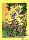 Cartoon: CONQUISTADOR (small) by PEPE GONZALEZ tagged dibujo,uniforme,soldados,america