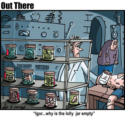 Cartoon: lolly jar (medium) by George tagged lolly,jar