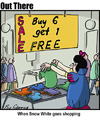 Cartoon: bargin hunting (small) by George tagged bargin,hunting