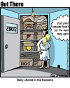 Cartoon: chores (small) by George tagged chores