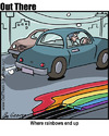Cartoon: drainbow (small) by George tagged drainbow