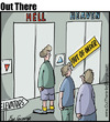 Cartoon: elevator (small) by George tagged elevator
