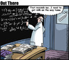 Cartoon: equation (small) by George tagged equation