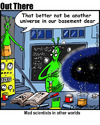 Cartoon: other universes (small) by George tagged other,universes