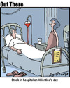 Cartoon: sick valentine (small) by George tagged sick,valentine