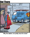 Cartoon: superservice (small) by George tagged superservice