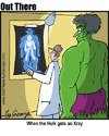 Cartoon: Xray (small) by George tagged xray