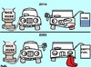 Cartoon: SAVE FUEL - BY ELECTRIC CARS (small) by AMY20 tagged cars,fuel,save,extinct,electric,rice,husk