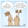 Cartoon: Das Ende ist nah (small) by Timo Essner tagged das,ende,ist,nah,corona,grippe,pandemie,epidemie,grippewelle,cov19,deutschland,weltuntergang,panik,sars,bse,ebola,y2k,cartoon,timo,essner