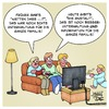 Cartoon: Familie Fernsehen Abendprogramm (small) by Timo Essner tagged anstalt,max,uthoff,claus,von,wagner,familienprogramm,zdf,bildungsfernsehen,abendprogramm,fernsehen,familie,tv,samstagabend,wetten,dass,cartoon,timo,essner